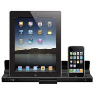Hype DUAL DOCK CHARGER FOR IPHOEN AND IPAD- ADAPTER INCLUDED - Black at Kmart.com