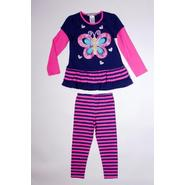 Trend Zone Girl's Tunic Top & Leggings - Butterfly & Hearts at Sears.com