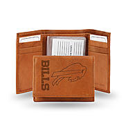 Rico NFL Buffalo Bills Embossed Leather Tri-fold Wallet at Sears.com