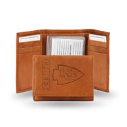 Rico NFL Kansas City Chiefs Embossed Leather Tri-fold Wallet at Kmart.com