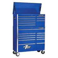 "Extreme Tools 41"" 8 Drawer Top Chest & 11 Drawer Roller Cabinet in Blue at Kmart.com"
