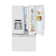 Kenmore Elite 29 cu. ft. Grab-N-Go French Door Bottom-Freezer Refrigerator - White at Kenmore.com