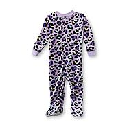 Joe Boxer Infant & Toddler Girl's Footed Sleeper Pajamas - Leopard Print at Kmart.com