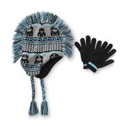 Joe Boxer Boy's Mohawk Hat & Gloves Set - Fair Isle Monster at Kmart.com