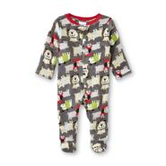 Small Wonders Infant Boy's Footed Fleece Sleeper - Dog at Kmart.com