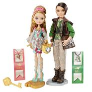Ever After High™ Ashlynn Ella™ and Hunter Huntsman™ Dolls at Kmart.com