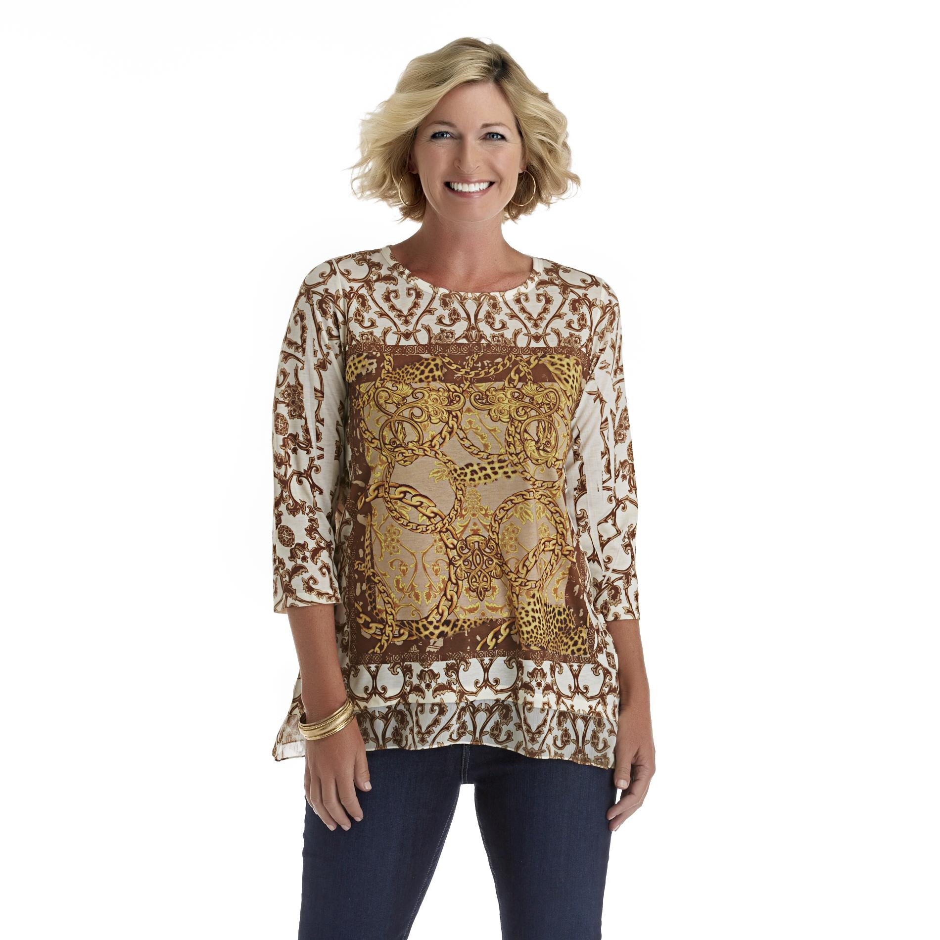 Laura Scott Women's Sublimation Top at Sears.com