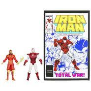 Hasbro Marvel Universe Marvel's Greatest Battles Comic Packs Silver Centurion vs. Mandarin at Kmart.com