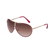 Southpole Women's Aviator Sunglasses Pink with Gold Detailing at Sears.com