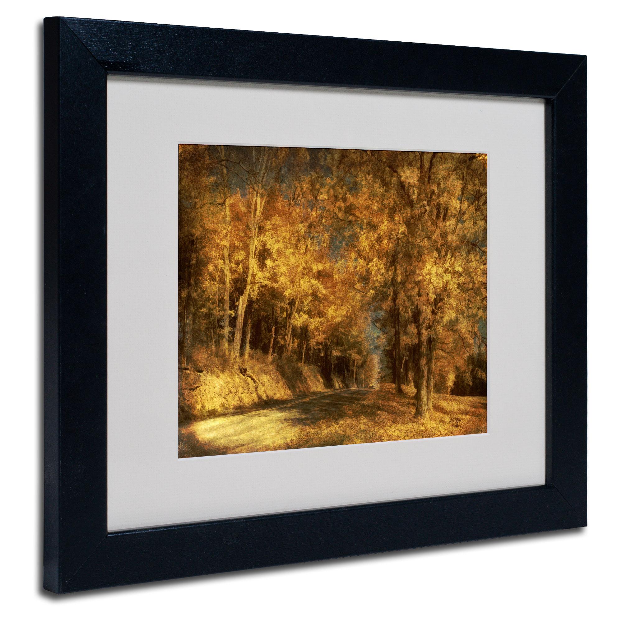 Trademark Global Lois Bryan 'Back Roads' Matted Framed Art PartNumber: 024VA68918212P MfgPartNumber: LBr0210-B1114MF