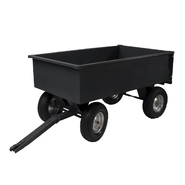 Precision Products 17 Cu. Ft. Front Wheel Steer Trailer Cart at Kmart.com