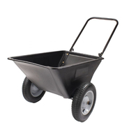 "Precision Products 5.5 Cu. Ft. Garden Cart w/ 16"" Pneumatic Wheels at Kmart.com"