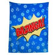 Generic, unbranded The Big Bang Theory Bazinga Logo 50x60 inch Throw Blanket at Kmart.com