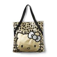 Hello Kitty Women's Metallic Tote Bag - Cheetah Print at Sears.com