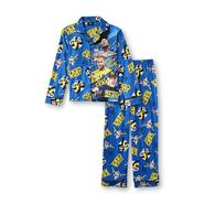 WWE Boy's Long-Sleeve Pajama Shirt & Pants at Kmart.com