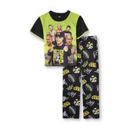 WWE Boy's Short-Sleeve Pajama Shirt & Pants - Favorite Wrestlers at Kmart.com