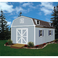 Colony Bay Outdoor Structures Wellington 12' x 20' Storage Building Kit with Floor at Kmart.com
