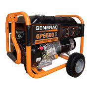 Generac GP Series 6500 watt Portable Generator - 49 State - Non CA at Sears.com