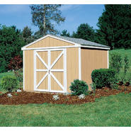 Colony Bay Outdoor Structures Augusta 10' x 8' Storage Building Kit with Floor at Kmart.com