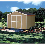 Colony Bay Outdoor Structures Dover 10' x 8' Storage Building Kit with Floor at Kmart.com
