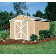 Colony Bay Outdoor Structures Augusta 10' x 10' Storage Building Kit with Floor at Kmart.com