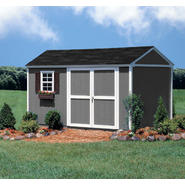 Colony Bay Outdoor Structures Augusta 10' x 12' Storage Building Kit with Floor at Kmart.com