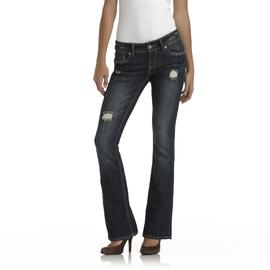 Dollhouse Junior's Distressed Skinny Jeans - Embellished at Sears.com