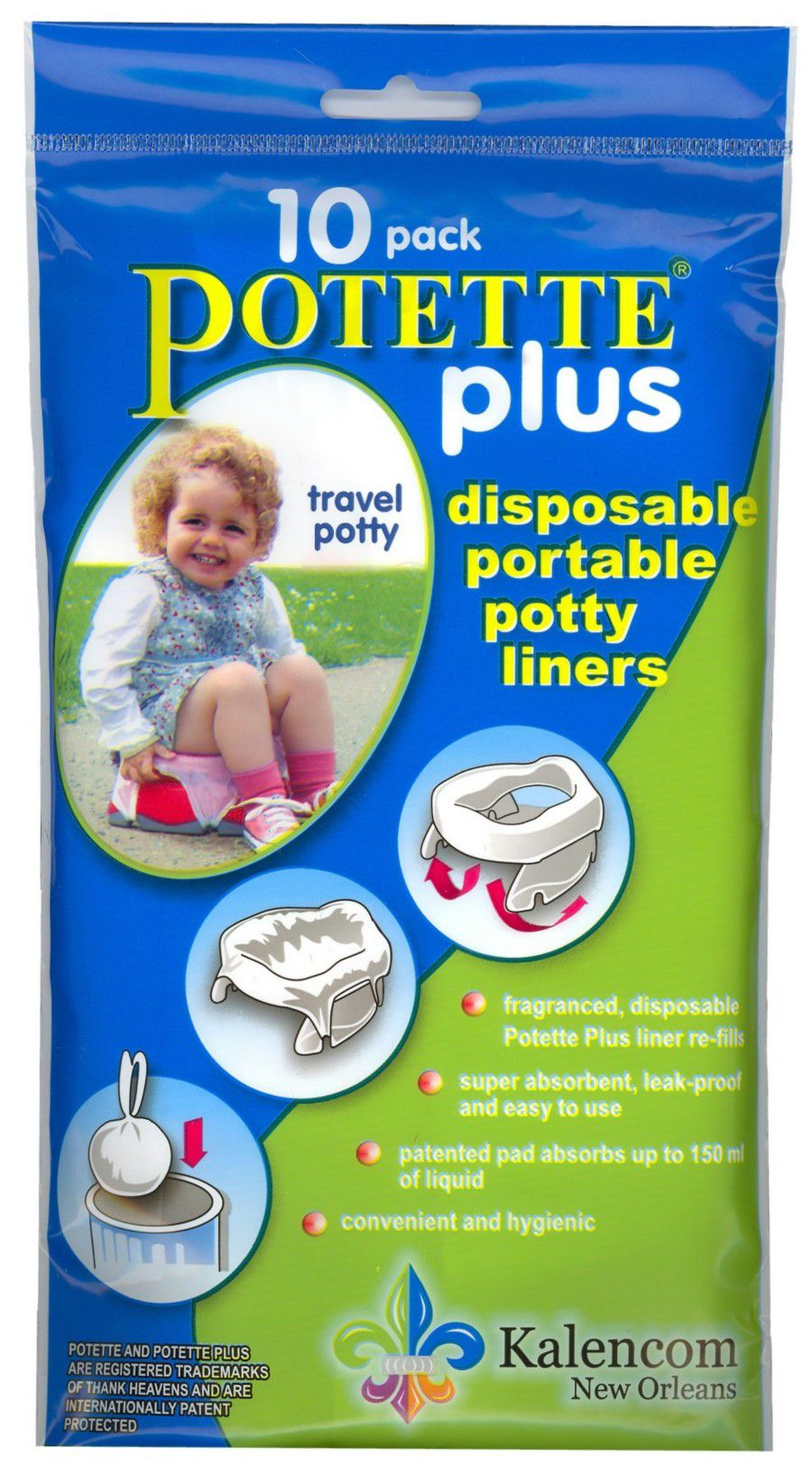 2 in 1 Potette Plus Liners
