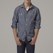Adam Levine Men's Long-Sleeve Chambray Shirt at Sears.com