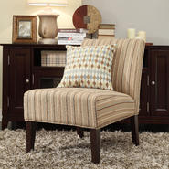 Oxford Creek Mandala Striped Fabric Armless Lounge Chair at Sears.com