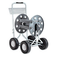 Claber 8900 Jumbo 4 Wheel Garden Hose Reel with 265-Foot 5/8-Inch Capacity at Sears.com