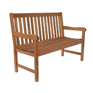 Amazonia Milano 4 Feet Eucalyptus Wood Patio Bench at Sears.com