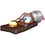 Gemmy Halloween Animated Airblown Rat in the Trap at Kmart.com