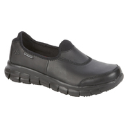 Skechers Women's Relaxed- Fit Sure Track Work Shoe - Black at Sears.com