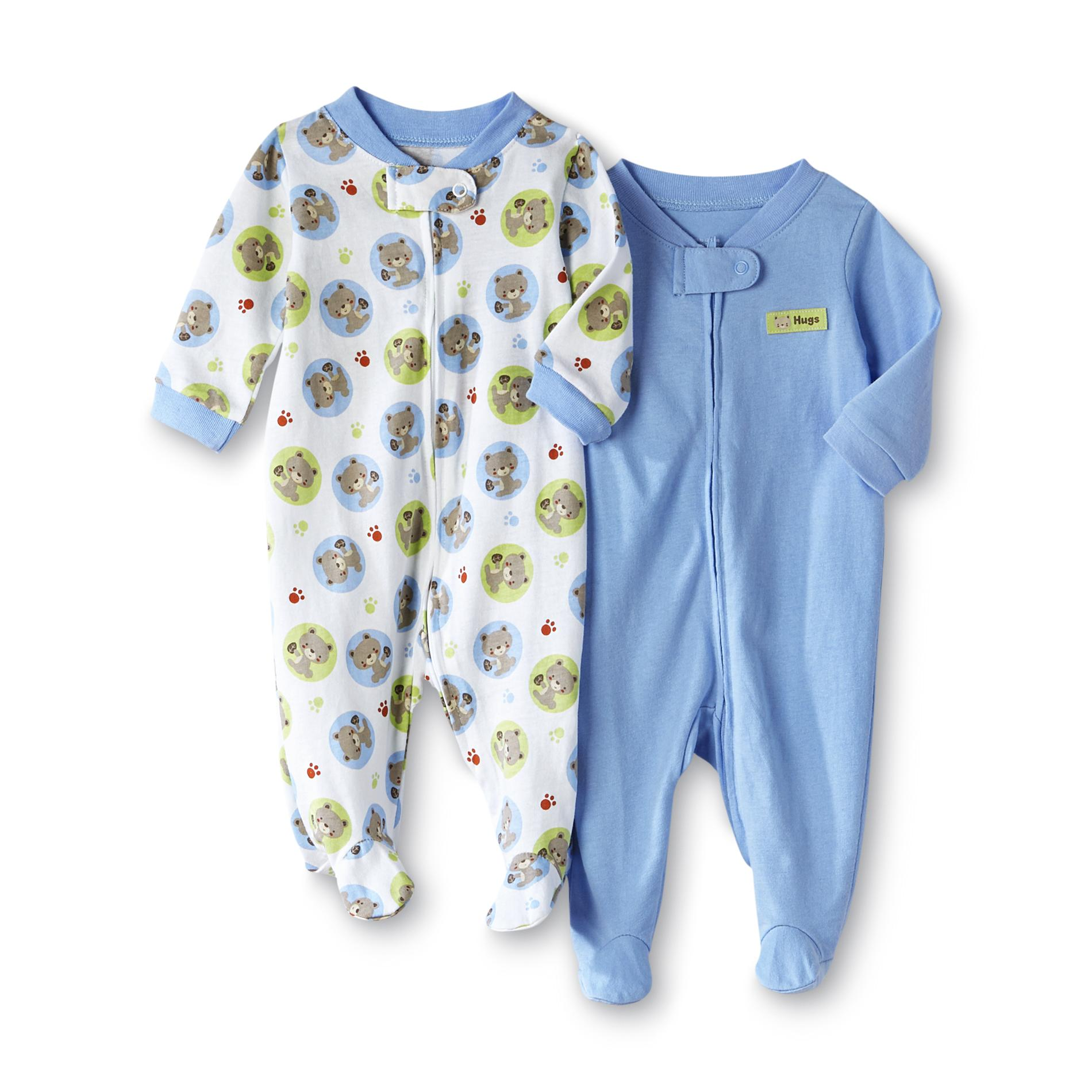 Infant Boy's 2-Pack Sleep 'N Plays - Bears &