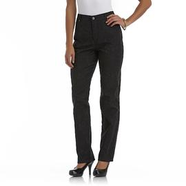 Gloria Vanderbilt Women's Jacquard Classic Fit Amanda Jeans at Sears.com
