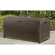 Suncast 73 gallon Wicker Resin Deck Box at Kmart.com