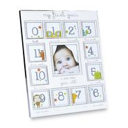 Magic Years Baby's First Year Photo Frame - Silvertone at Kmart.com