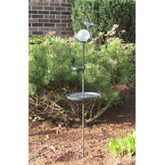 Smart Solar Aquarius Birdbath Solar Stake with Glass Orb at Sears.com