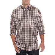 Harbor Bay Long-Sleeve Easy-Care Plaid Sport Shirt at Sears.com