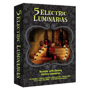 LumaBase Halloween Haunted House Electric Luminaria Kit at Kmart.com
