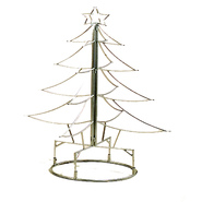 "Deer Park Ironworks Christmas Tree 32"" Silver Metal at Kmart.com"