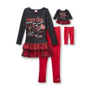 What A Doll Girl's Top, Skirt & Doll Outfit - Bolero at Kmart.com