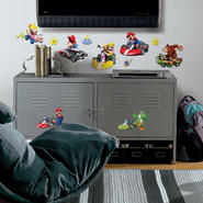 RoomMates Nintendo - Mario Kart Peel & Stick Wall Decals at Kmart.com