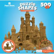 "Jigsaw Shaped Puzzle 500 Pieces 30""x28"" Sand Castle at Kmart.com"