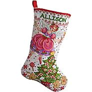 Bucilla Sugar Plum Stocking Counted Cross Stitch Kit 28 Count at Kmart.com