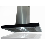 "AKDY 36"" Kitchen Island Mount Stainless Steel Range Hood w/Baffle Vent S-GL9003-36 at Sears.com"