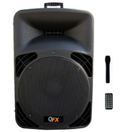 Quantum FX 2 Way Cabinet Speaker with Built-In Amplifier/Bluetooth/380W at Kmart.com