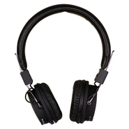 Quantum FX Black Folding Stereo Headphones at Kmart.com