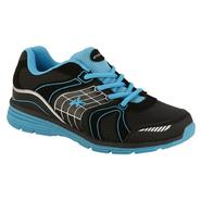 Athletech Women's Ath L-Willow 2 Athletic Shoe - Black/Teal at Kmart.com